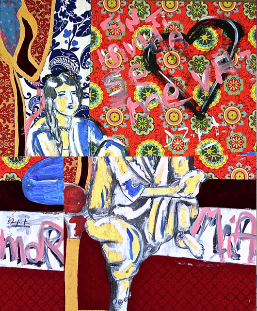 , 'Matisse by Zapata mi amor Number 16,' 2013, KM Fine Arts