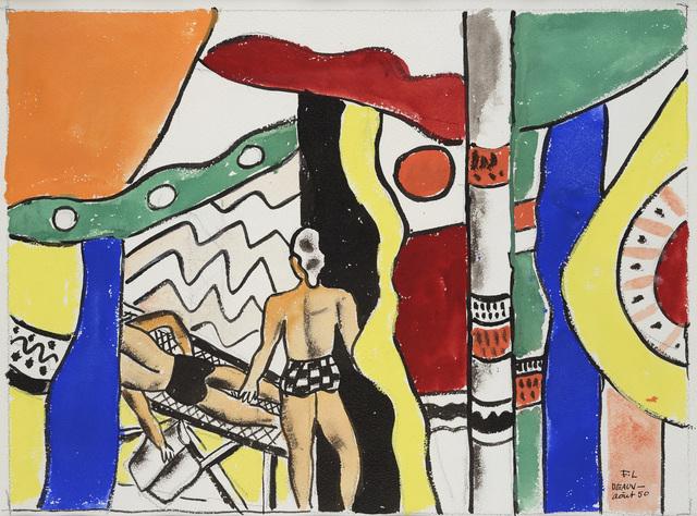 , 'Deauville la Sieste,' 1950, Waterhouse & Dodd