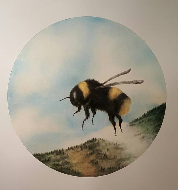 , 'Somber life of Bees,' 2018, Gallery Jones