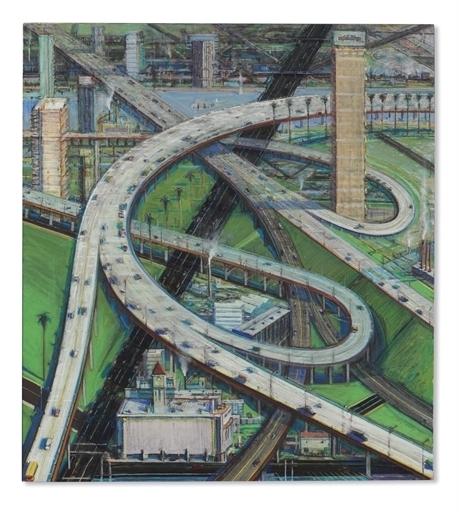 Wayne Thiebaud, 'Interchange', Christie's