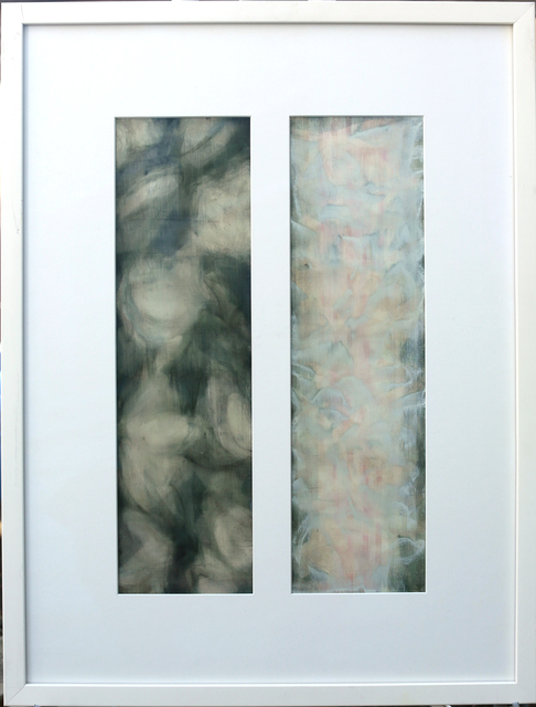 Susan Breen, 'For Anxiety (Diptych)', 2008, Painting, Oil on paper, Woodward Gallery