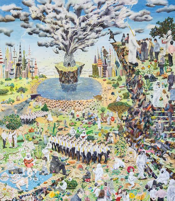 , 'Neverland 3,' 2017, Christian Larsen
