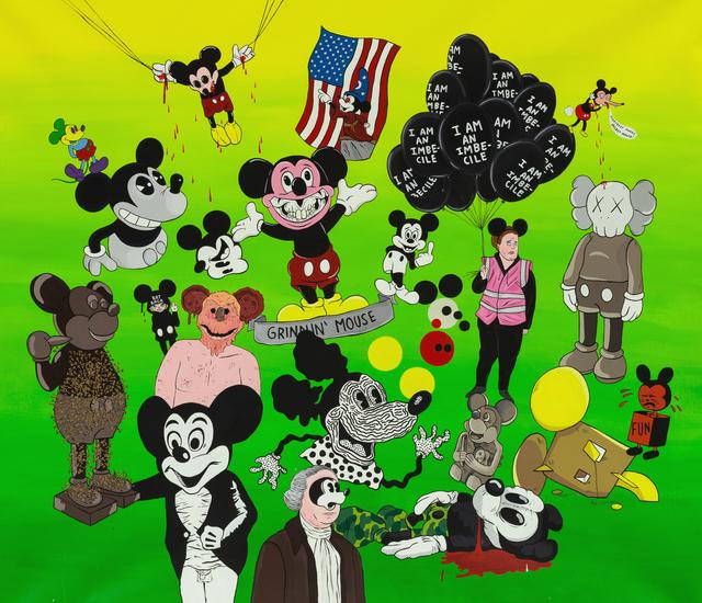 , 'Everybody makes Mickey Mouse,' 2018, MARTINA
