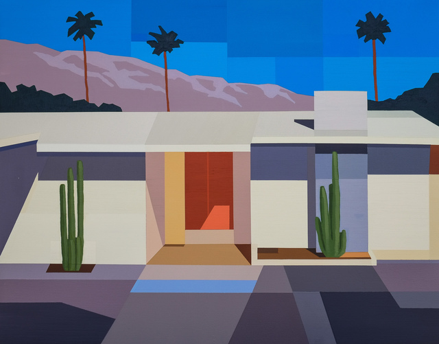 , 'Palm Springs House I,' 2017, Cynthia Corbett Gallery