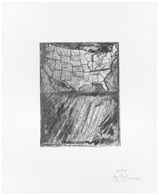 , 'Map,' 2012, Gemini G.E.L.
