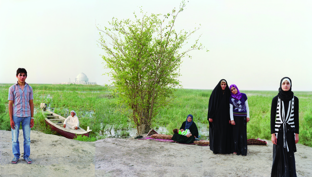 , 'Adam and Eve in the S. Iraq Marshes, near the historic site of the Garden of Eden ,' 2011, David Richard Gallery