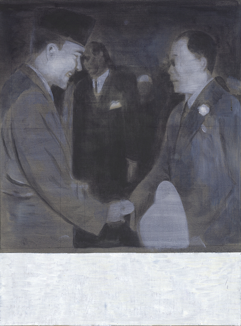 Sawangwongse Yawnghwe, 'My Grandfather and Sukarno 1950', 2019, TKG+