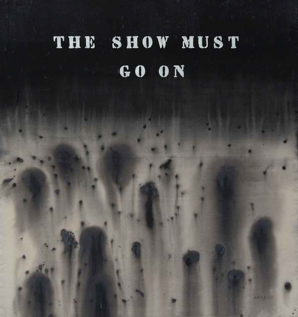 , 'The Show Must Go On,' 2012, Yavuz Gallery