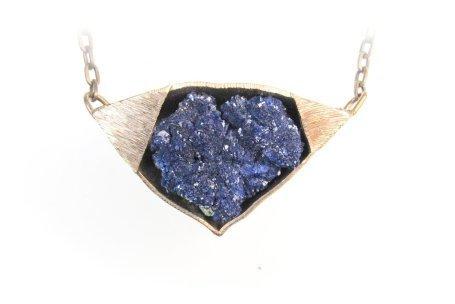 , 'Azurite Necklace,' , form & concept