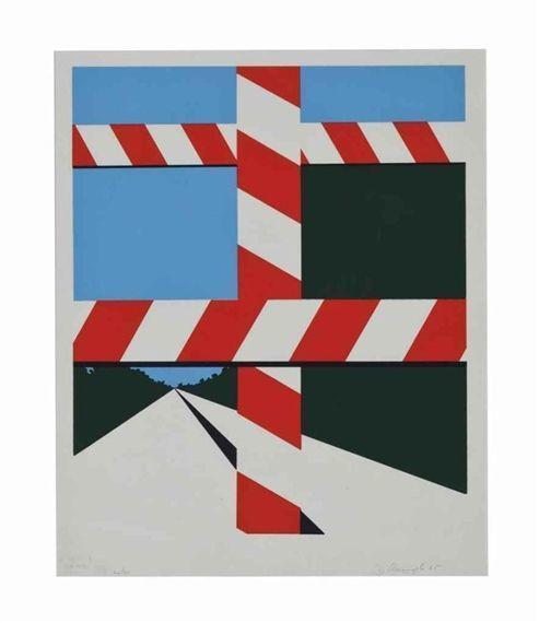 Allan D'Arcangelo, 'Untitled', 1965, Michael Steinberg Fine Art