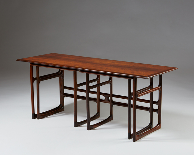 , 'Nest of tables by Brockmann Petersen,' 1950-1959, Modernity