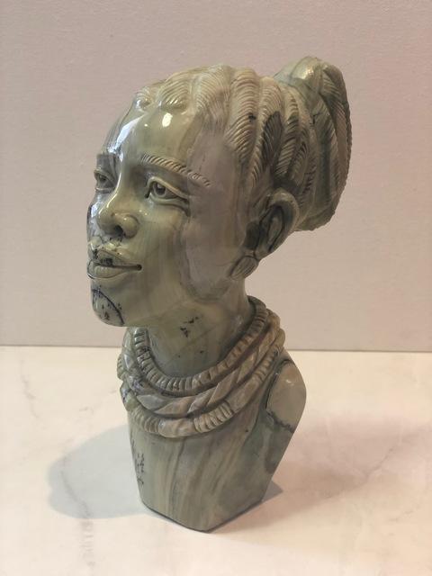 Aron Kapembeza, 'African Woman Stone Sculpture', 2019, Art Gallery Pure