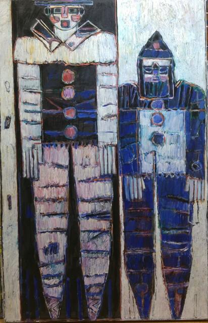, 'Les clowns,' ca. 1989, We Art Partners