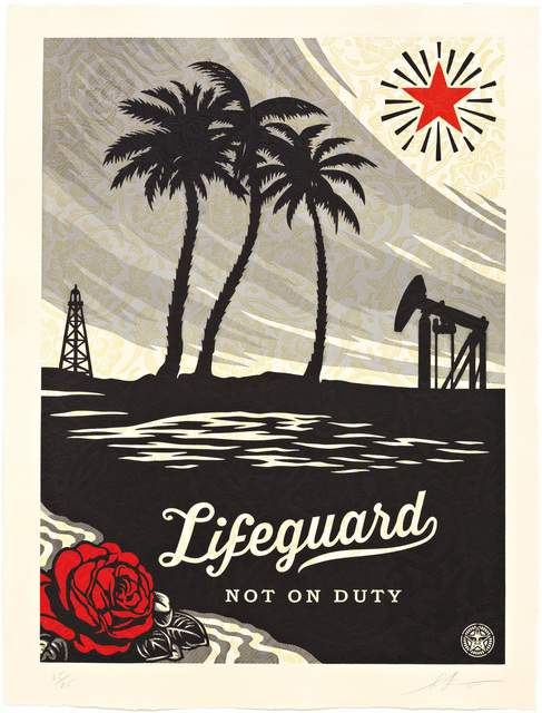 Shepard Fairey, 'Lifeguard Not on Duty ', 2015, Pace Prints