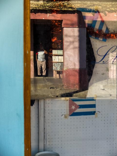 , 'Smoking in the doorway,' , Soho Photo Gallery