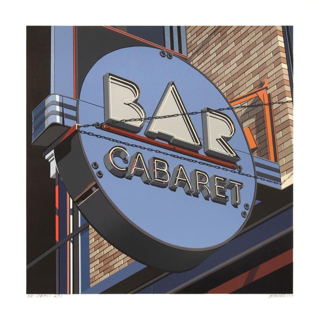 , 'Bar Cabaret,' 2019, Tandem Press