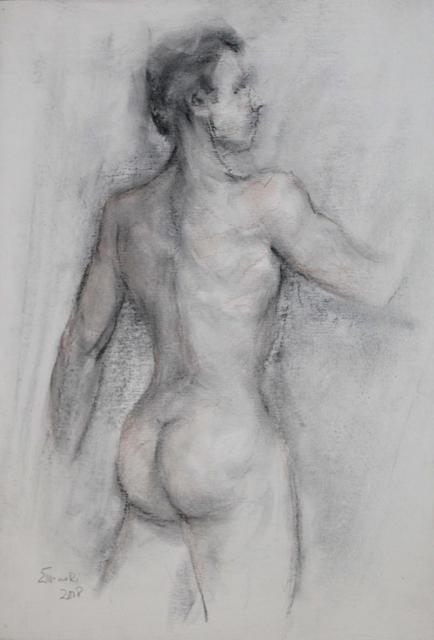 , 'Male Nude ,' 2008, Galeria Canoa