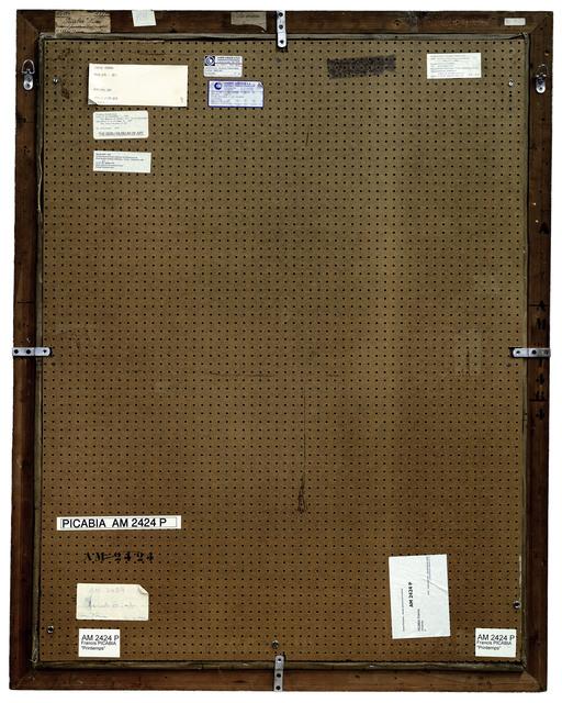 , 'Verso n°14, Printemps, par Francis Picabia, collection centre Pompidou, Paris,' 2007, Modernism Inc.
