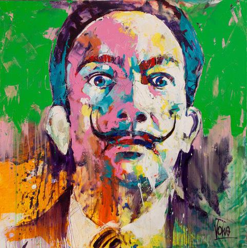 Voka, 'Dalí', 2019, ArtCatto