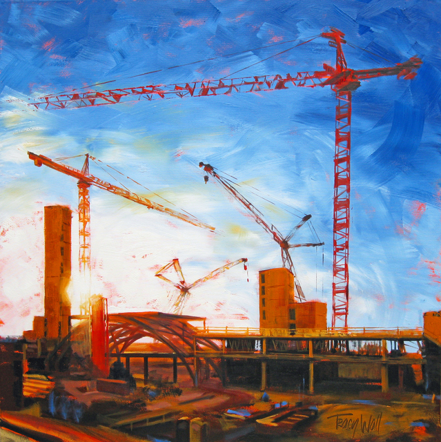 , 'Sunrise Cranes Pose,' 2014, Abend Gallery