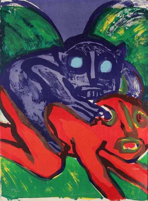 Bengt Lindström, 'Komposition', 1976, Kunzt Gallery