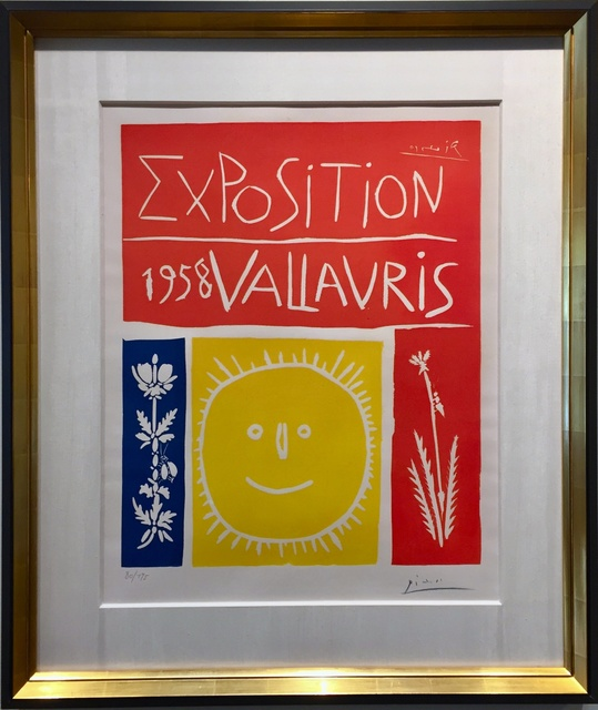 Pablo Picasso, 'Exposition De Vallauris (B.1284; BA.1050) ', 1958, Off The Wall Gallery
