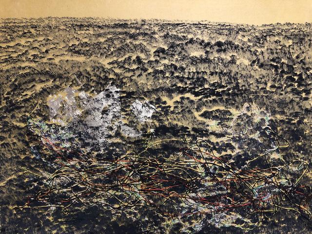 Yoshio Ikezaki, 'Untitled', 2019, Painting, Mixed Media on handmade paper, Kylin Gallery