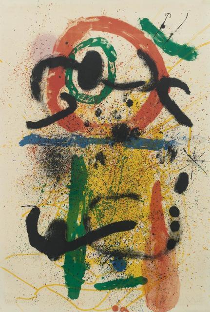 Joan Miró, 'Pierrot le Fou', 1964, Hindman
