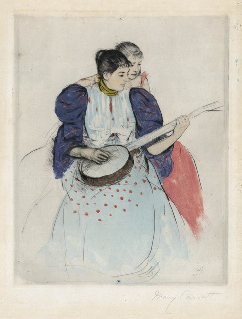 , 'The Banjo Lesson.,' 1894, The Old Print Shop, Inc.