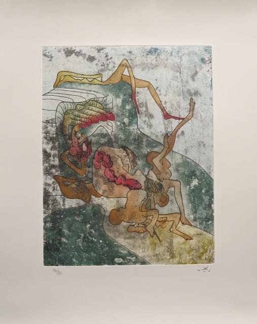 Roberto Matta, 'From the La Piaga portfolio, entitled Un autre après', 1973, MLA Gallery