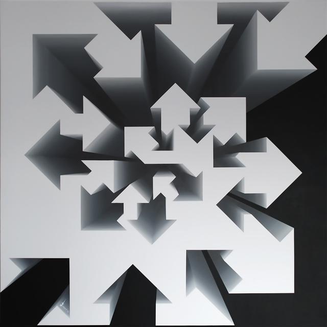 , 'Fibonacci Nautilus - Black & White,' 2017, Addicted Art Gallery