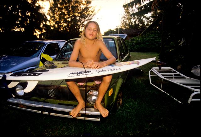 Tom Servais, 'Nathan, North Shore, Hawaii, 1988', 2019, Gagosian