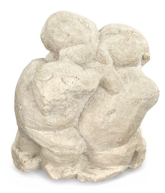 Henri Gaudier-Brzeska, 'Three Monkeys', Sculpture, Composite stone, Doyle