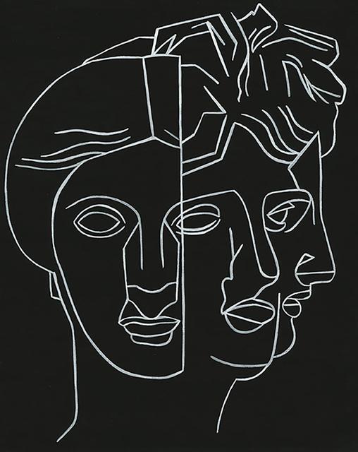 , 'Mask 2,' 2016, David Lusk Gallery