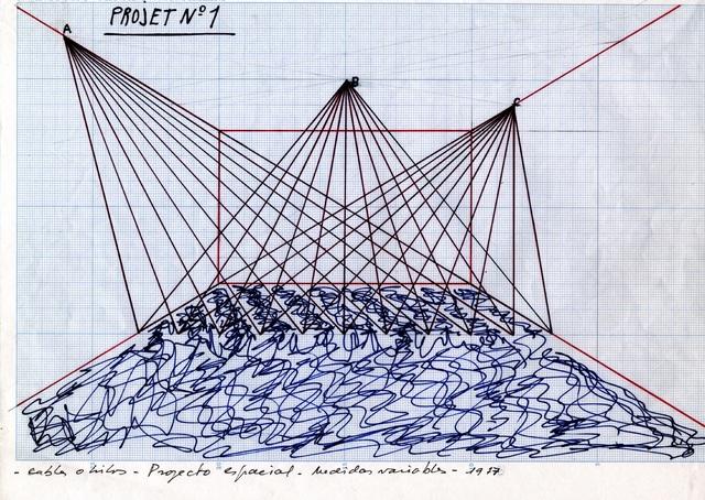 , 'Spatial Projects series (Serie Proyectos espaciales),' 1977, Guggenheim Museum Bilbao