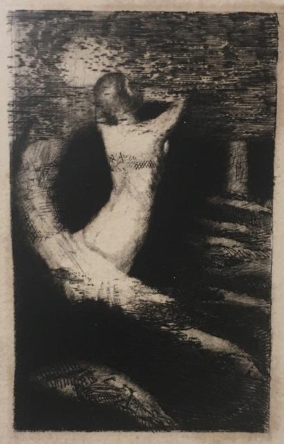 Odilon Redon, 'Passage d'une âme. (Frontispice pour A. Remacle, La Passante, Paris, Bibliothèque artistique et littéraire, 1892)', 1891, Galerie Céline Moine & LGFA