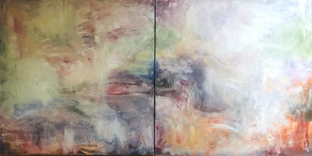Jennifer Jean Okumura, 'Awake diptych', 2021, Painting, Oil on canvas, Array Contemporary