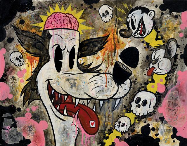 , 'Revenge of the Acid Wolf,' 2018, La Luz de Jesus Gallery