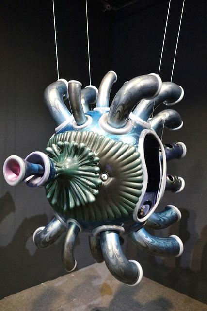 , '宇宙魚Ficco_玻璃纖維FRP_120x100x60cm_,' 2000, MOCA Taipei