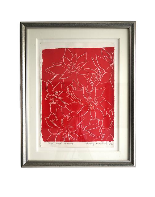 Andy Warhol, 'Poinsettias', 1982, Print, Screenprint, Isabella Garrucho Fine Art