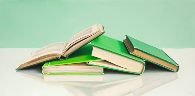, 'Green Books,' , George Billis Gallery
