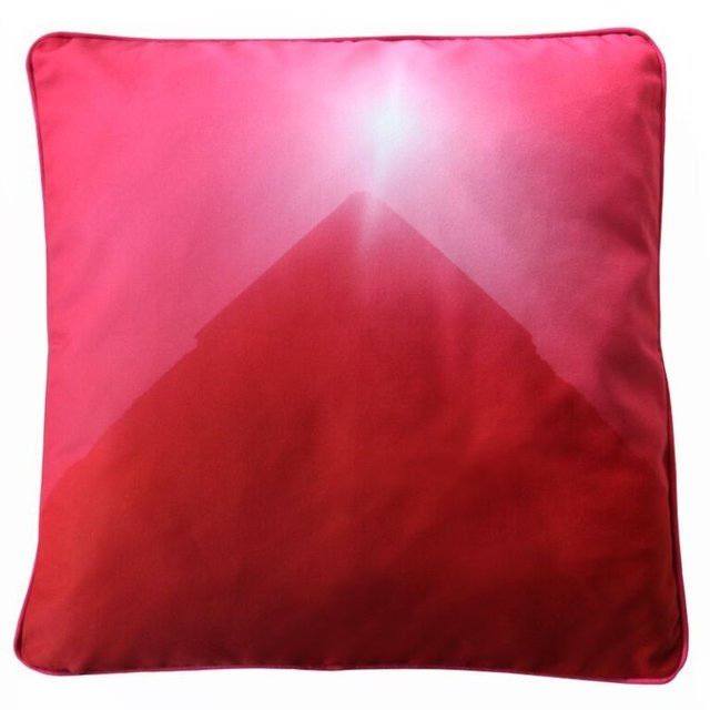 Jack Pierson, 'Pyramid Pillow (Untitled 2014)', 2015, Other, Digital print on cotton / polyester & filling feather down Same artwork on two sides with piping, MOCA
