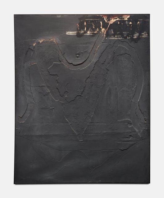 , 'Monochrome Gris au Signe Noir Superieur,' 1960, Ben Brown Fine Arts