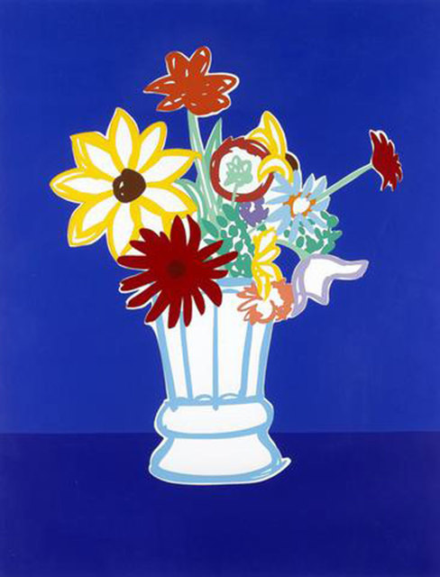 , 'Country Bouquet With Blue,' 1991, Untitled Projects