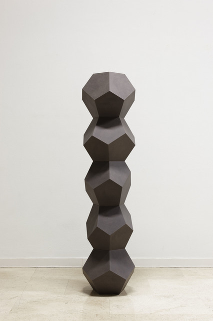 , 'Stack of Five Pentagon Forms Irregular Oiled 1,' 2014, Simon Lee Gallery