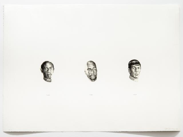 , 'Spock Tuvok Tupac,' 2006, Ronald Feldman Gallery
