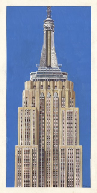 Richard Haas, 'Empire State Building.', 1996, The Old Print Shop, Inc.