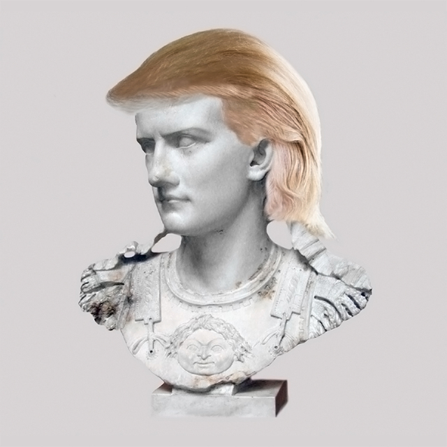 , 'Roman Emperor Caligula/Blond Hair Piece,' 2018, JAUS