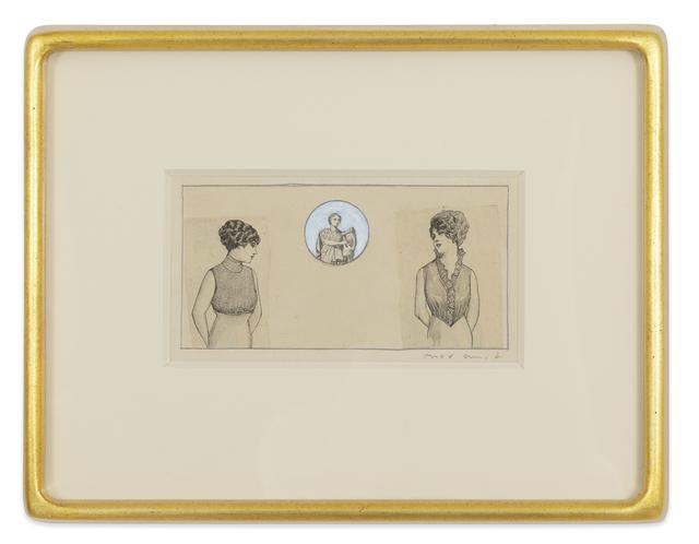 , 'Deux jeunes dames,' 1972, Kasmin