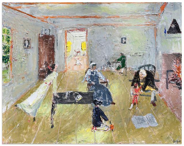 John Bradford, 'John Adams Family in Braintree', 2018, Anna Zorina Gallery